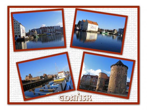 Trafił się słoneczny dzień.... #Gdańsk #zabytki #Motława #miasto #widoki