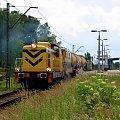 SM42-2131 z PNI Radom, wykonuje prace, mające na celu odchwarzszczenie torowiska. #stonka #SM42 #Towarowy #Techniczny #PNI #Warszawa #Okęcie #pociąg #rail