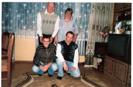 Leśna rodzinka z Wałbrzycha