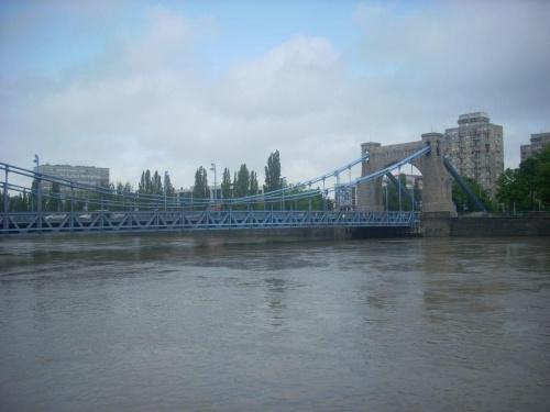 22 Maja 2010, godzina 13:30, most grunwaldzki #MostGrunwaldzki #Wrocław #Odra