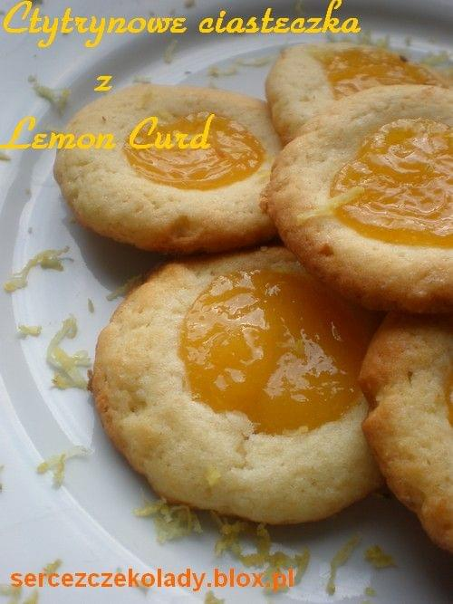 Cytrynowe Ciasteczka z Lemon Curd