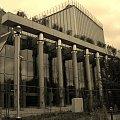 Nieukończony jeszcze nowy gmach Opery i Filharmonii Podlaskiej - Europejskiego Centrum Kultury i Sztuki. Otwarcie we wrześniu tego (2012) roku. http://opera.bialystok.pl/ #białystok