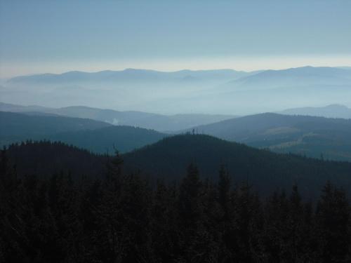 widok z Radziejowej #góry