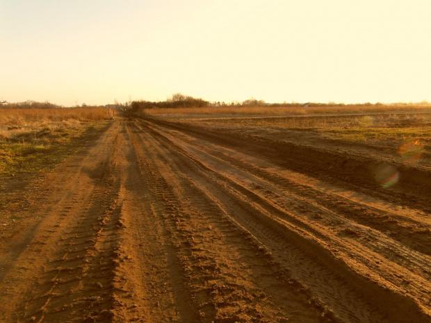bedzie nowa droga:) #droga #przedwieosnie #bloto #ziemia