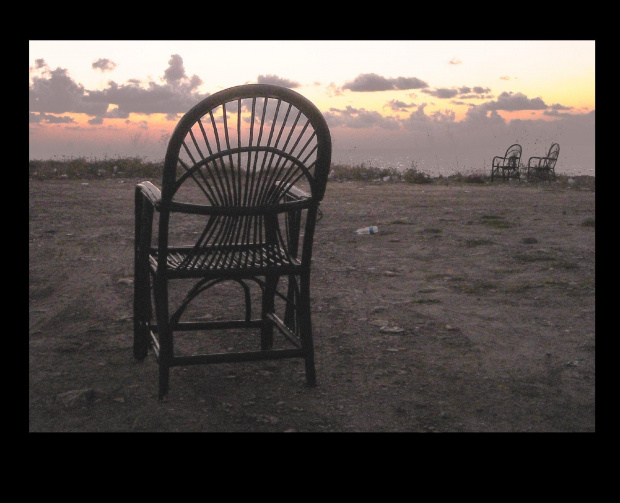 #ZachódSlońca #krzesła