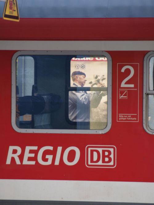 Witam wszystkich. Wybaczcie brak kom. i odwiedzin z mojej strony, brak czasu :-(. Zycze wszystkim udanego i slonecznego dnia :-) #niemcy #pociag #regio