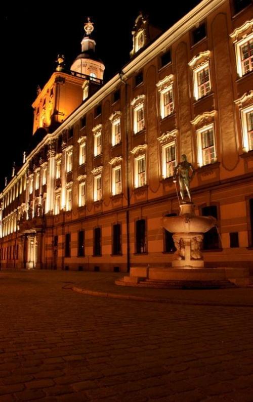 Wrocław nocą... #Wrocław #noc #architektura